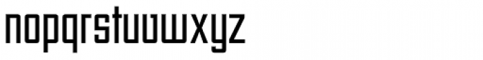 Unovis EF Regular XCon Font LOWERCASE
