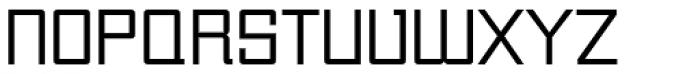 Unovis EF Regular Font UPPERCASE