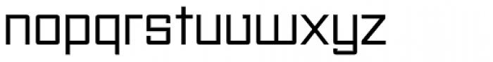 Unovis EF Regular Font LOWERCASE