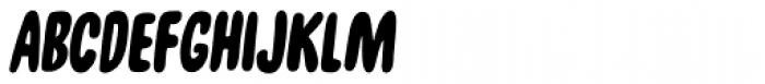 Unpack Fast Font UPPERCASE