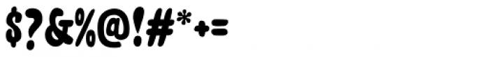 Unpack Regular Font OTHER CHARS