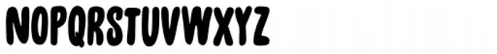 Unpack Regular Font LOWERCASE