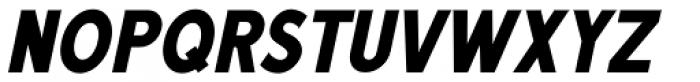 Unpretentious Oblique JNL Font UPPERCASE