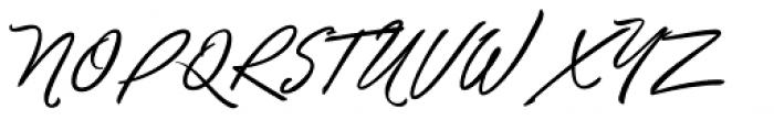 Unthrift Second Font UPPERCASE