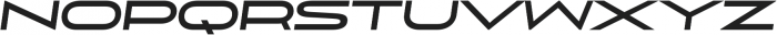 Uomo Wide Bold Italic otf (700) Font UPPERCASE