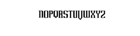UovoDiDrago-rough.otf Font LOWERCASE