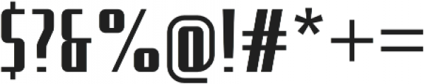 Uphead Condensed otf (400) Font OTHER CHARS