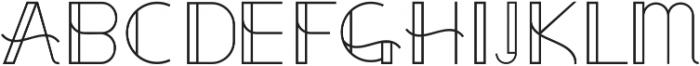 Uppercase ttf (400) Font LOWERCASE