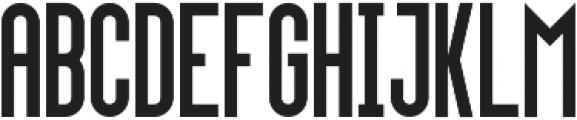 Upside-Regular Regular otf (400) Font LOWERCASE