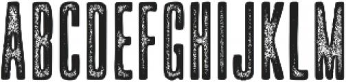 Upstater Ink ttf (400) Font UPPERCASE