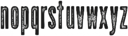 Upstater Ink ttf (400) Font LOWERCASE