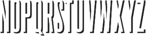Upstater Shadow Regular ttf (400) Font UPPERCASE
