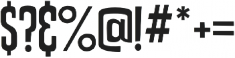 Uptown Sans otf (400) Font OTHER CHARS