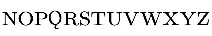 UPPERCASE & lowercase Font UPPERCASE
