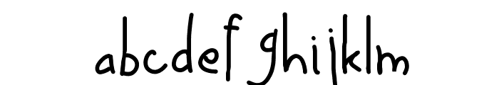 Up in _ Air Font LOWERCASE