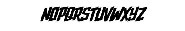 Upjohn - Rough Font UPPERCASE