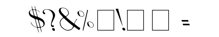 Upp Ea Leftys Font OTHER CHARS