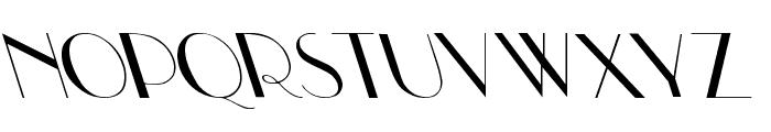 Upp Ea Leftys Font UPPERCASE