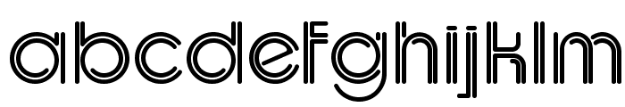 UptightC Font LOWERCASE