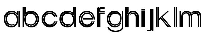 Uptight Font LOWERCASE