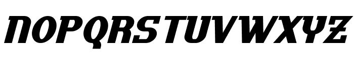 Uptown Italic Font LOWERCASE
