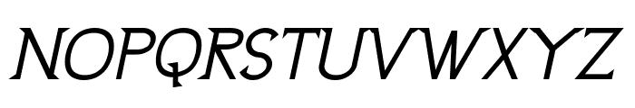 UptownElegance-BoldItalic Font UPPERCASE