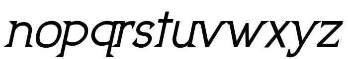 UptownElegance-BoldItalic Font LOWERCASE