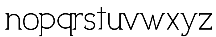 UptownElegance Font LOWERCASE
