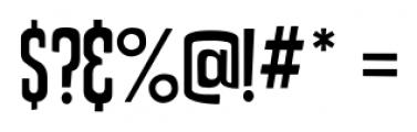 Uptown Sans Regular Font OTHER CHARS