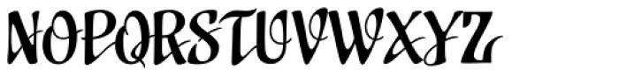 Uplink Font UPPERCASE