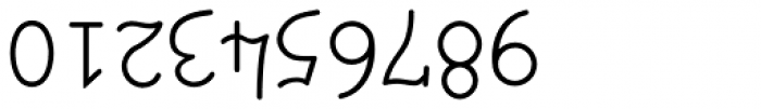UpsidedownTOC Font OTHER CHARS