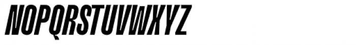 Upton Bold Italic Font UPPERCASE