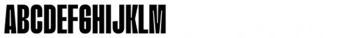Upton Extra Bold Font UPPERCASE