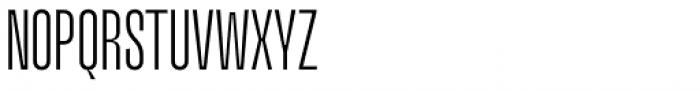 Upton Light Font UPPERCASE