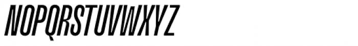 Upton Medium Italic Font UPPERCASE