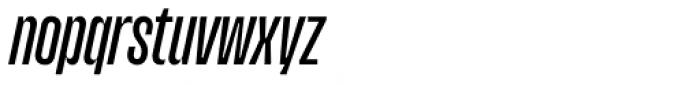 Upton Medium Italic Font LOWERCASE