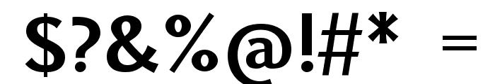 Uqammaq Bold Font OTHER CHARS