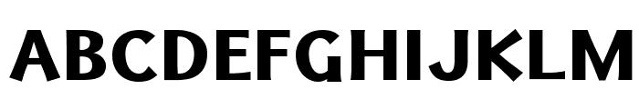 Uqammaq Heavy Font UPPERCASE