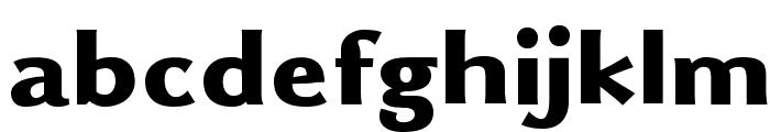 Uqammaq Heavy Font LOWERCASE