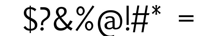 Uqammaq Light Font OTHER CHARS