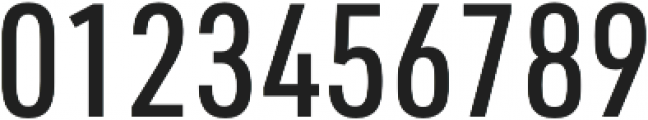 URW DIN Cond Medium otf (500) Font OTHER CHARS
