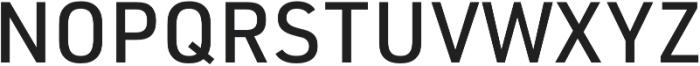 URW DIN Medium otf (500) Font UPPERCASE