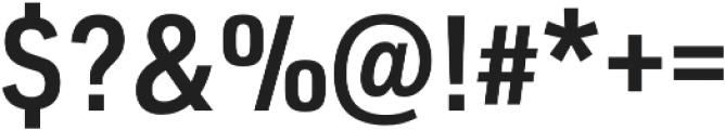 URW DIN SemiCond Demi otf (400) Font OTHER CHARS