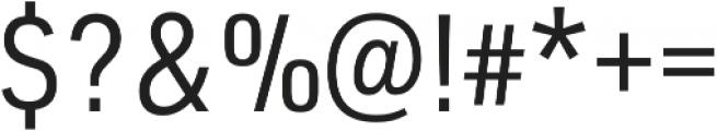 URW DIN SemiCond Regular otf (400) Font OTHER CHARS