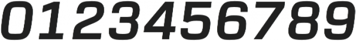 URW Dock Bold Italic otf (700) Font OTHER CHARS