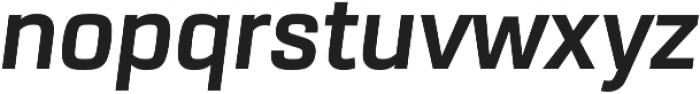 URW Dock Bold Italic otf (700) Font LOWERCASE