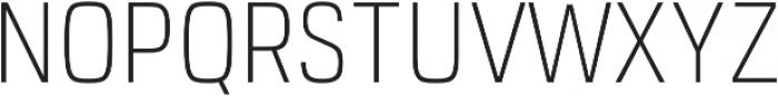 URW Dock Cond Extra Light otf (200) Font UPPERCASE