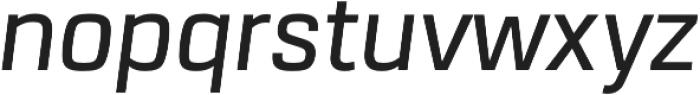 URW Dock Medium Italic otf (500) Font LOWERCASE
