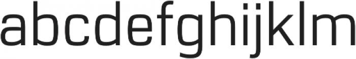 URW Dock Regular otf (400) Font LOWERCASE
