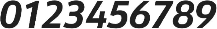URW Form Bold Italic otf (700) Font OTHER CHARS